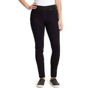 Gloria Vanderbilt Avery Pull-On Straight Leg Jeans